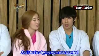 [eng] Lee Joon Sunhwa #2 Baekji Rivals @ Happy Together funny