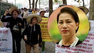 Bất ngờ biểu tình trước nhà Nguyễn Thị Kim Ngân tại Hà Nội