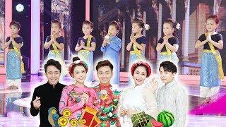 """7 Cô Ba Long An """"siêu cute"""" trở lại Gala Biệt Tài Tí Hon khiến A Xìn, Bắp """"TAN CHẢY"""""""