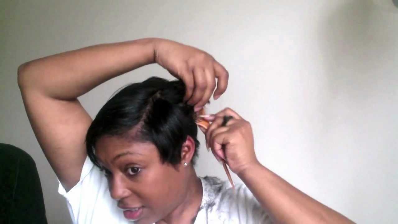 Short Hair Cutting Tutorial How I Cut My Short Black Hair