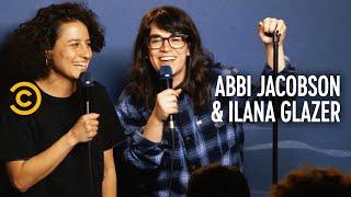 Abbi Jacobson and Ilana Glazer Pretend to Be Jonah Ray and Kumail Nanjiani