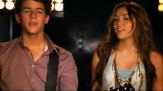 Jonas Brothers Feat Miley Cyrus & Demi Lovato And Selena Gomez - Send It On (HQ + Lyrics)