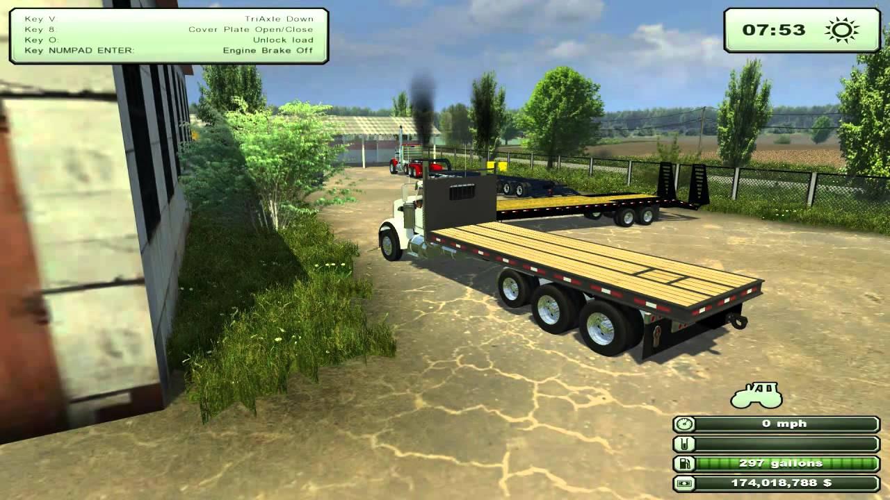 Truck Trailer: Farming Simulator 2011 Mods Truck Trailer