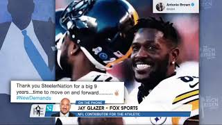 Jay Glazer on What's in Store for Odell Beckham Jr. & Antonio Brown | The Rich Eisen Show | 2/18/19