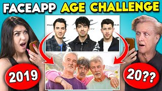 Teens React To FaceApp Age Challenge