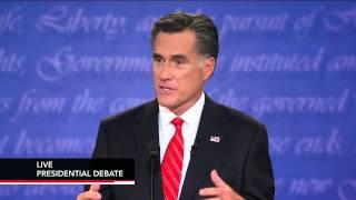 Watch Jim Lehrer Moderate First Full Presidential Debate
