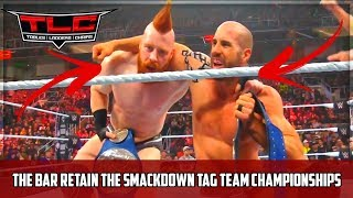 WWE TLC 2018 The Bar VS The New Day VS The Usos (SmackDown Tag Team Title Triple Threat Match)