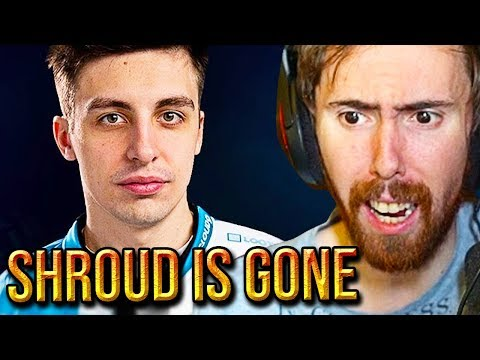 Asmongold Can't Believe SHROUD Is Leaving Twitch For Mixer