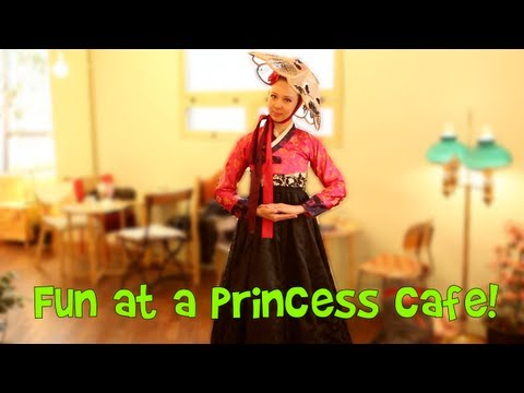 Korean Princess Cosplay Cafe