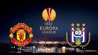 Manchester United vs Anderlecht Full Match 1st Half - Europa League 20th April 2017