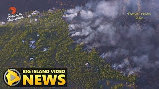 Hawaii Volcano Eruption Update - Thursday Morning (July 5, 2018)