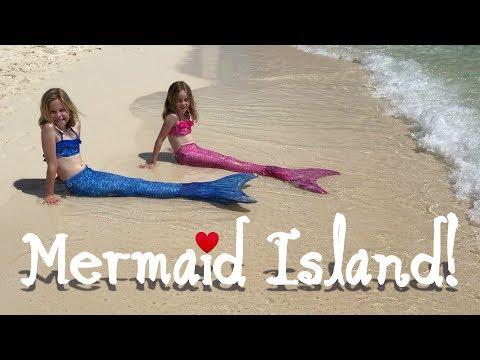 Mermaid Island! (PART 2 of Mermaids Disappear!)