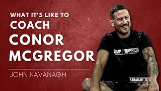 John Kavanagh | Conor McGregor vs Dustin Poirier, W2W, & What Makes a Champion with Mark Bouris