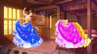 Learn Colors Wrong Colors Change Dress For Disney Princess _KidHome