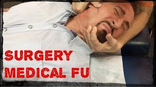 Medical (surgery) butcher's patient only chiropractic saves life - Part 1/2