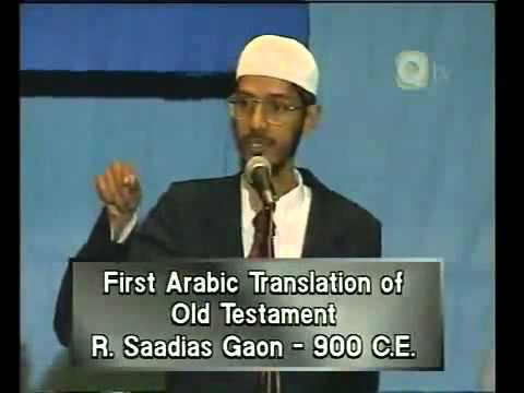 Dr. Zakir Naik - Is The Quran God's Word (Full Lecture)