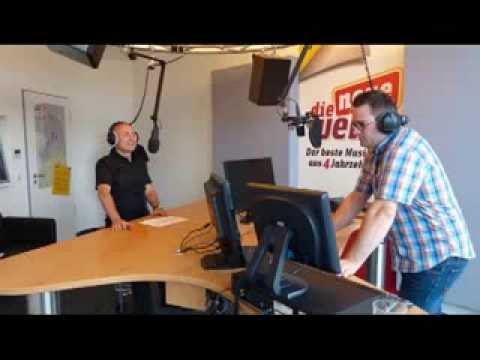 alfatraining beim Radiosender die neue welle in Karlsruhe