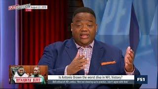 SPEAK for YOURSELF | Whitlock DEBATE: Is Antonio Brown the worst diva in NFL history?