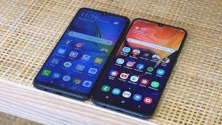 Samsung Galaxy A50 vs. Huawei P30 lite Test   deutsch