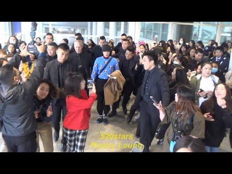 EXO - Suho(수호) 金俊勉Kim Jun Myeon(김준면) Arrived Hong Kong Airport 20190210