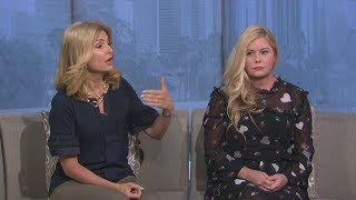 Nicole Eggert and Lisa Bloom discuss sex abuse and harassment allegations against Scott Baio