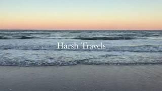 Ocean Waves at sunset - Relax watching HD 4K video of the ocean waves. 1 Hour long relaxing sleep