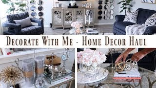 💙Glam Home💙 HOME DECOR HAUL   COFFEE TABLE STYLING