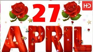 27 April Special New Birthday Status Video , happy birthday wishes, birthday msg quotes जन्मदिन