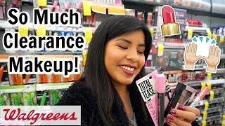 Come Shop With Me: HUGE Clearance Makeup and NEW Drugstore Makeup at Walgreens!