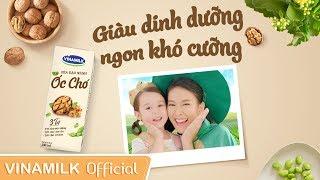 Quảng cáo Vinamilk - Sữa Đậu Nành Hạt Óc Chó Vinamilk 3 TỐT - Giàu dinh dưỡng, ngon khó cưỡng
