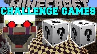 Minecraft: PHANTOM MARIONETTE CHALLENGE GAMES - Lucky Block Mod - Modded Mini-Game