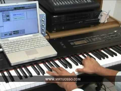 Como tocar canciones de alabanza y adoracion en el piano y teclado (Renuevame)