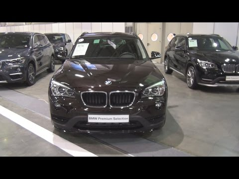 BMW X1 xDrive 20d Sparking Brown (2015) Exterior and Interior in 3D