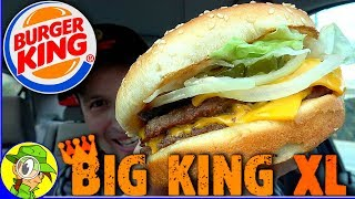 Burger King®   Big King™ XL   Food Review! 🍔👑💪😛