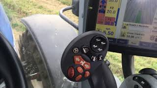 Can you plough with autosteer?