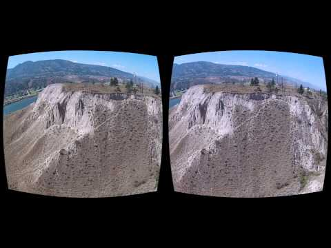 Oculus Rift 3D GoPro movie - Canada 09 BC Canyon