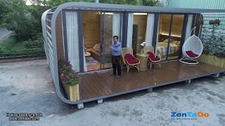Nhà di động thông minh 48m2 Zentado-Smart House.