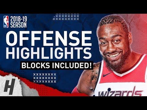 John Wall BEST Offense Highlights from 2018-19 NBA Season! CRAZY SPEED!