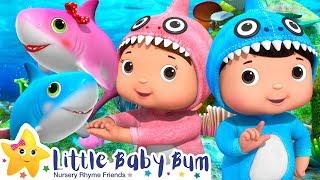 Baby Shark Dance | Baby Shark Challenge + More Nursery Rhymes & Kids Songs | Little Baby Bum