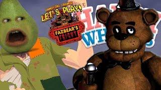Annoying Orange - Pear Plays Five Nights at Freddy's Happy Wheels!