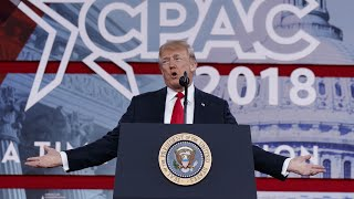 The strangest moments from Donald Trump's CPAC 2018 speech