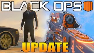 Black Ops 4 Update: The Replacer, MK II Weapon Variant & More