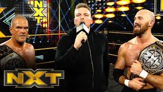 WWE NXT (10/21): Pat McAfee Speaks After His Big Return