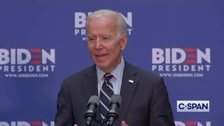 "Joe Biden: ""Donald Trump has absolutely corroded our country's credibility."""