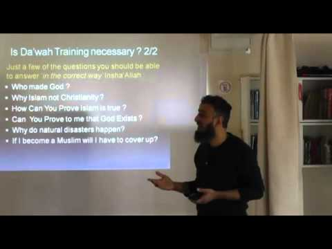 Dawah Training by Dr. Fazal Rehman - Part 1