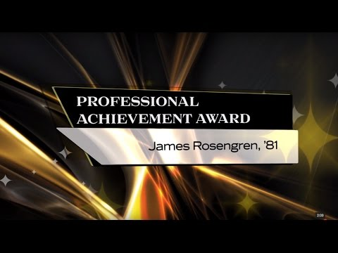 James Rosengren, '81 -  2015 UCF Professional Achievement Award Winner - COS