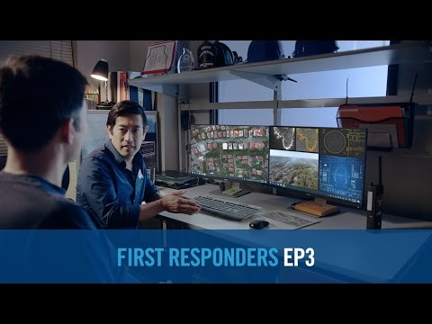 Project First Responders -- Drones to the Rescue!