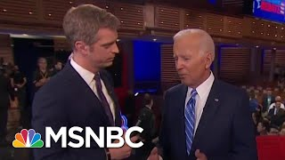 Joe Biden Defends Himself, Says Kamala Harris Mischaracterized His Positions | MSNBC
