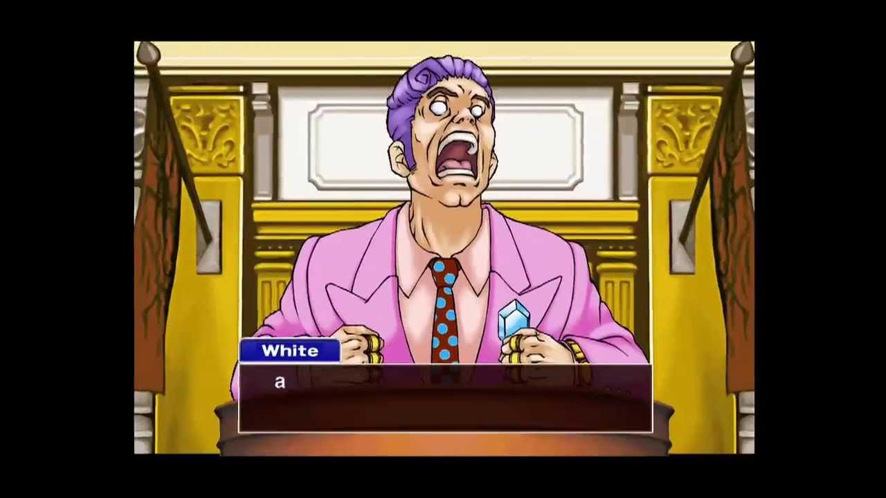 Phoenix Wright: Ace Attorney -- Justice For All - Walkthrough