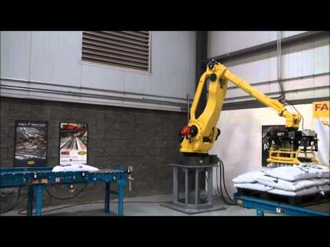 FANUC Wood Pellet Palletizer